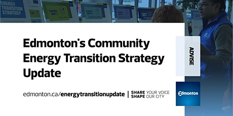 Updating the Energy Transition Strategy with an Economic Development Lens tickets