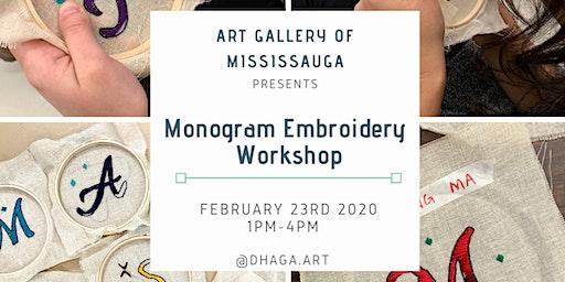 Phulkari Monogram Embroidery Workshop