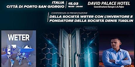 Il VENTO cambierà tutto • con Denis Tiaglin biglietti