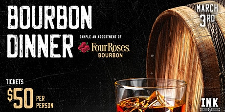 Four Roses Bourbon Dinner at Ink N Ivy tickets