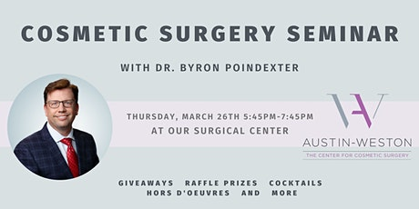 Cosmetic Surgery Seminar with Dr. Poindexter tickets