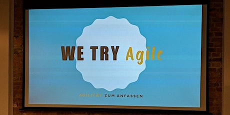 19. We Try Agile - Agile Brettspiele Tickets