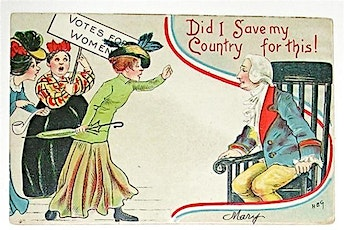 Sachets and Suffrage Tea tickets