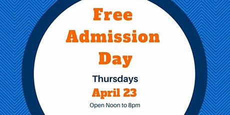 Free Admission Day tickets