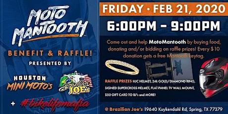 MotoMantooth Benefit & Raffle tickets