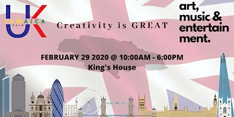UK Jamaica Fair 2020 - Creativity is GREAT tickets