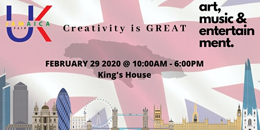 UK Jamaica Fair 2020 - Creativity is GREAT
