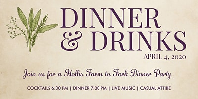 Farm to Fork 2020 | A Hollis Dinner Party