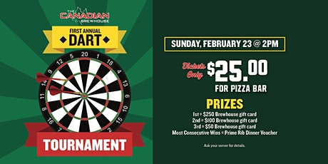 First Annual Dart Tournament (Ellerslie) tickets
