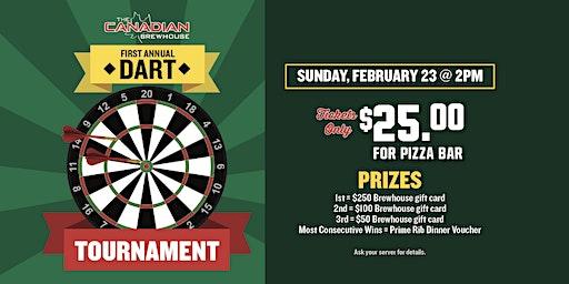 First Annual Dart Tournament (Ellerslie)