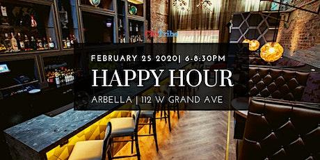 ChiTribe February Happy Hour at Arbella tickets