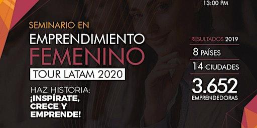 SEMINARIO INTERNACIONAL DE EMPRENDIMIENTO FEMENINO TOUR LATAM 2020