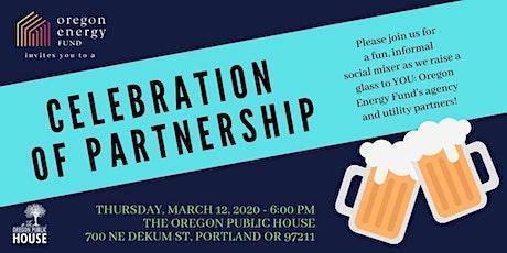 Oregon Energy Fund: Celebration of Partnership tickets