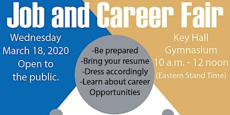 Job and Career Fair tickets