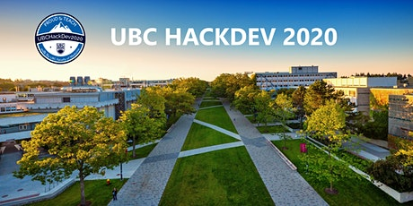 UBC HackDev 2020 tickets