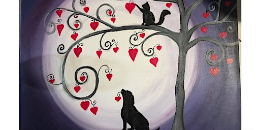 This whimsical painting is perfect for all skill levels!!