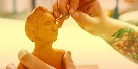 Atelier modelage de l'argile au café citoyen Le Rat Perché billets