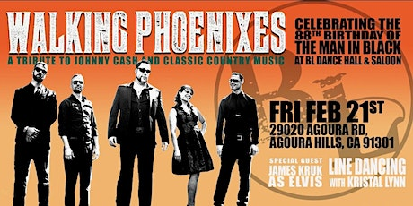 Johnny Cash Birthday Bash - Feat The Walking Phoenixes tickets