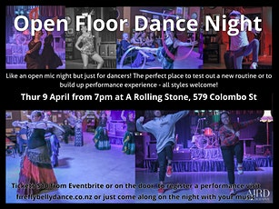 Open Floor Dance Night - April tickets