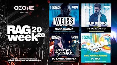 RAG WEEK @ OZONE ATHLONE 2020 tickets