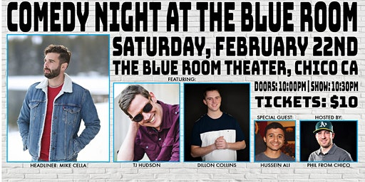 Comedy Night at The Blue Room: Mike Cella
