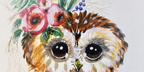 Boho Owl Workshop - March 13 at Tie One On tickets