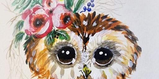 Boho Owl Workshop - March 13 at Tie One On
