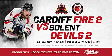 Cardiff Fire 2 vs Solent Devils 2 tickets