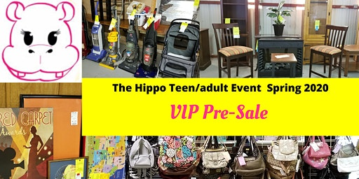 The Hippo Events VIP Teen/Adult Pre-sale Event Tickets