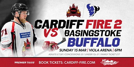 Cardiff Fire 2 vs Basingstoke Buffalo tickets
