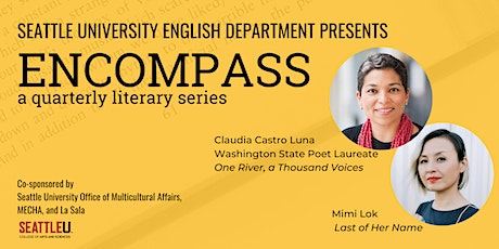 ENCOMPASS Reading Series: Featuring Claudia Castro Luna and Mimi Lok tickets