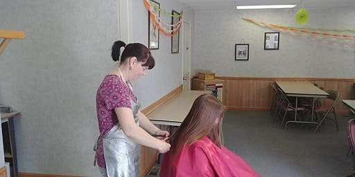 Haircuts for Single Parents families with Lisa