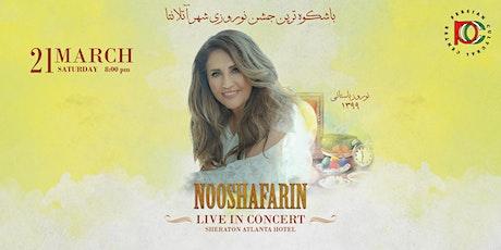 Nooshafarin live in Concert & Nowruz Celebration tickets