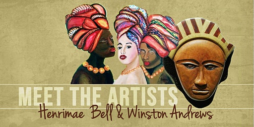 MEET THE ARTISTS: Henrimae Bell & Winston Andrews