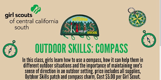 Outdoor Skills: Compass - Visalia