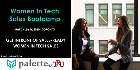 Women in Tech Sales Bootcamp March - EMPLOYER PARTNER PACKAGES tickets
