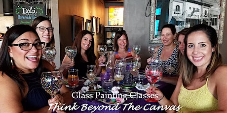 Wine Glass Painting class at Aunties Bakery and Cafe tickets