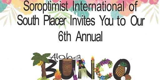 6th ANNUAL ALOHA BUNCO