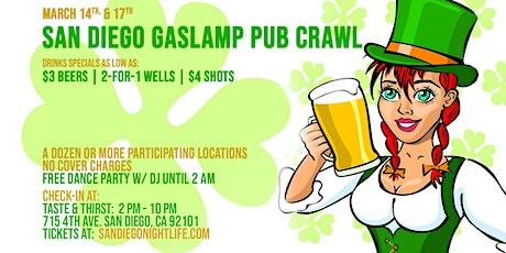 San Diego St Patrick's Day PubCrawl tickets