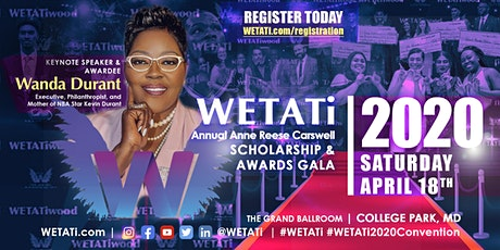 *POSTPONED*WETATi-Anne Reese Carswell Scholarship & Awards GALA tickets