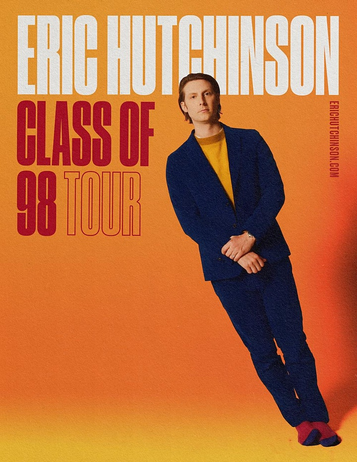 POSTPONED - Eric Hutchinson - Class of 98 Tour image