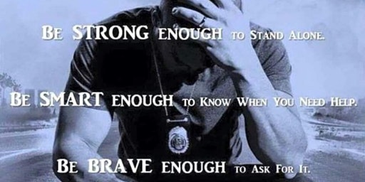 Embrace The Badge for PTSD Awareness
