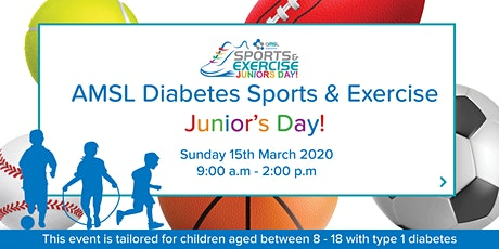 AMSL Diabetes Sports and Exercise - Junior's Day (8 - 18 years)! tickets
