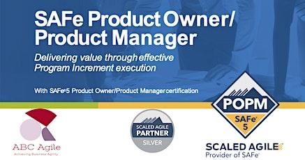 """Curso """"SAFe Product Owner/Product Manager 5.0"""" con certificación como POPM - en Bogotá por Estratecno - Juan Gilberto García López entradas"""