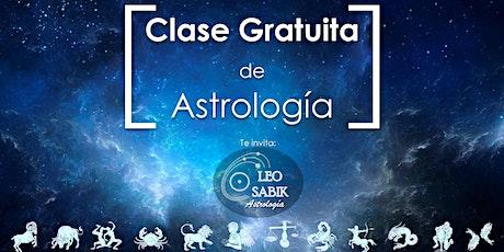 Clase Gratuita de Astrología tickets