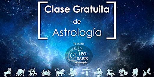 Clase Gratuita de Astrología