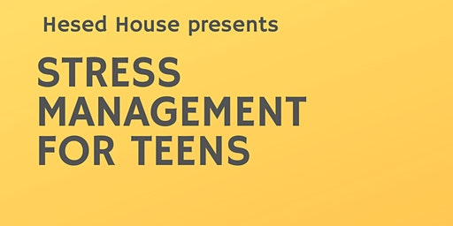 Stress Management For Teens: 12-13