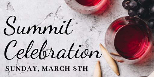 Summit Celebration | SOLD OUT