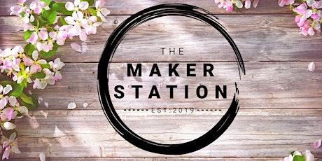 Indoor Spring Market at the Maker Station tickets