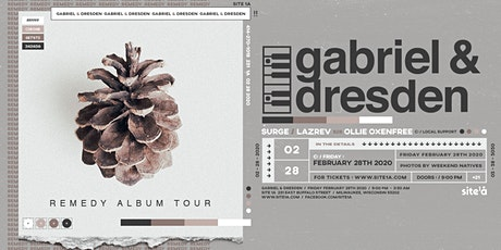 GABRIEL & DRESDEN [at] SITE 1A tickets